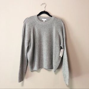 Abound Nordstrom Gray Pullover Knit Sweater